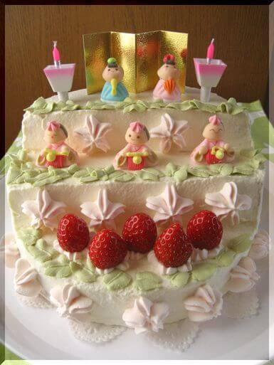 ひな祭り ケーキ レシピ