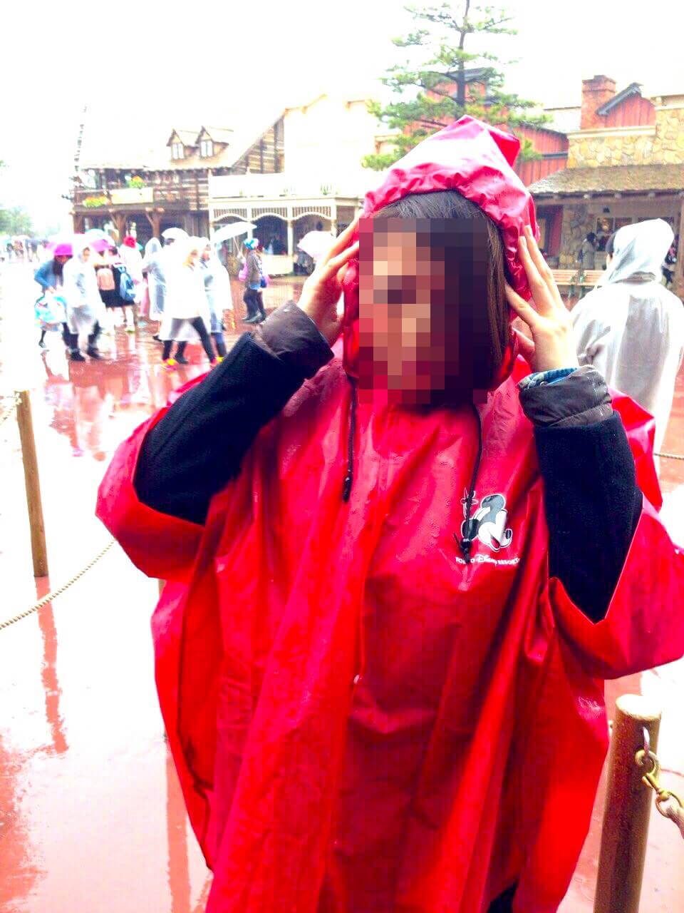 雨の日 ディズニーランド