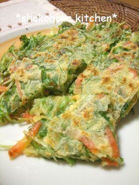 水菜 チヂミ